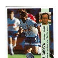 Cromos de Fútbol: CROMO FUTBOL 96 97 NUNCA PEGADO PANINI LIGA 1996 1997 ZARAGOZA PARDEZA. Lote 288643253