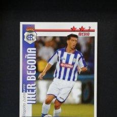 Cromos de Fútbol: REC IKER BEGOÑA RECREATIVO DE HUELVA 2002 2003 FUTBOL MATCH TOTAL LIGA MAGIC BOX 02 03. Lote 288701343