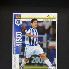 Cromos de Fútbol: REC XISCO RECREATIVO DE HUELVA 2002 2003 FUTBOL MATCH TOTAL LIGA MAGIC BOX 02 03. Lote 288701713