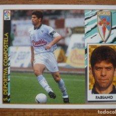 Cromos de Fútbol: CROMO LIGA ESTE 97 98 FABIANO (COMPOSTELA) - NUNCA PEGADO - FUTBOL 1997 1998. Lote 288702253