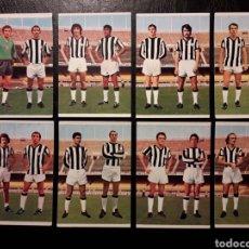 Cromos de Fútbol: 8 CROMOS CASTELLÓN RUIZ ROMERO 75 76 1975 1976. EQUIPO COMPLETO. SIN PEGAR. FOTOS FRONTAL Y TRASERA. Lote 288745638