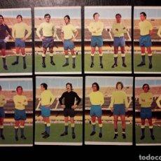 Cromos de Fútbol: 8 CROMOS LAS PALMAS RUIZ ROMERO 75 76 1975 1976. EQUIPO COMPLETO. SIN PEGAR FOTOS FRONTAL Y TRASERA. Lote 288745838