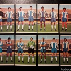 Cromos de Fútbol: 8 CROMOS RCD ESPAÑOL RUIZ ROMERO 75 76 1975 1976 EQUIPO COMPLETO. SIN PEGAR. VER FOTOS. Lote 288745943
