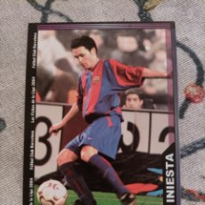 Cromos de Fútbol: CROMO CARD INIESTA MUNDICROMO LAS FICHAS DE LA LIGA 2003 2004 03 04. Lote 288746153