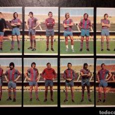 Cromos de Fútbol: 8 CROMOS FC BARCELONA RUIZ ROMERO 75 76 1975 1976. EQUIPO COMPLETO. SIN PEGAR. CRUYFF. VER FOTOS. Lote 288746988