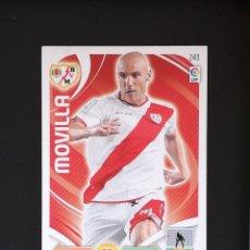 Cromos de Fútbol: #243 MOVILLA RAYO VALLECANO LIGA ADRENALYN XL 2011 2012 11 12 PANINI. Lote 288861088