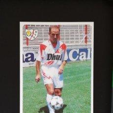 Cromos de Fútbol: #371 MARTIN GONZALEZ RAYO VALLECANO LAS FICHAS DE LA LIGA 95 96 MUNDICROMO 1995 1996. Lote 288861443