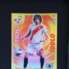 Cromos de Fútbol: #415 MICHU RAYO VALLECANO IDOLO 2011 2012 ADRENALYN XL 11 12 PANINI. Lote 288861728