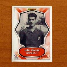 Cromos de Fútbol: VALENCIA - JULIO GARCÍA - EDICIONES LIGA ESTE-PANINI 2008-2009, 08-09 - NUNCA PEGADO. Lote 288861748