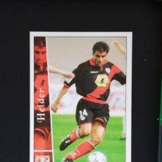 Cromos de Fútbol: #284 HELDER RAYO VALLECANO LAS FICHAS DE LA LIGA 2003 MUNDICROMO. Lote 288861778