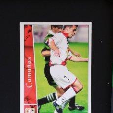 Cromos de Fútbol: #290 CAMUÑAS RAYO VALLECANO LAS FICHAS DE LA LIGA 2003 MUNDICROMO. Lote 288861798