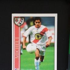 Cromos de Fútbol: #183 MICHEL I RAYO VALLECANO LAS FICHAS DE LA LIGA 2001 MUNDICROMO. Lote 288861938