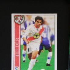 Cromos de Fútbol: #185 HELDER RAYO VALLECANO LAS FICHAS DE LA LIGA 2001 MUNDICROMO. Lote 288861973