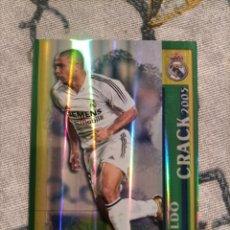 Cromos de Fútbol: CROMO CARD 52 RONALDO VERSIÓN BRILLO RAYAS VERTICALES MUNDICROMO 2005 2006 05 06 NUEVO. Lote 288943798