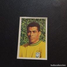 Cromos de Fútbol: JAIRZINHO BRASIL FHER MEXICO ASES MUNDIAL 1970 CROMO FUTBOL 70 - SIN PEGAR - A50 - PG46. Lote 288943873