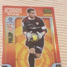 Cromos de Fútbol: 427 PALOP (ICONOS DE LA LIGA) SEVILLA FC, MEGACRACKS 21-22 2021 2022. MGK PANINI. Lote 289020398