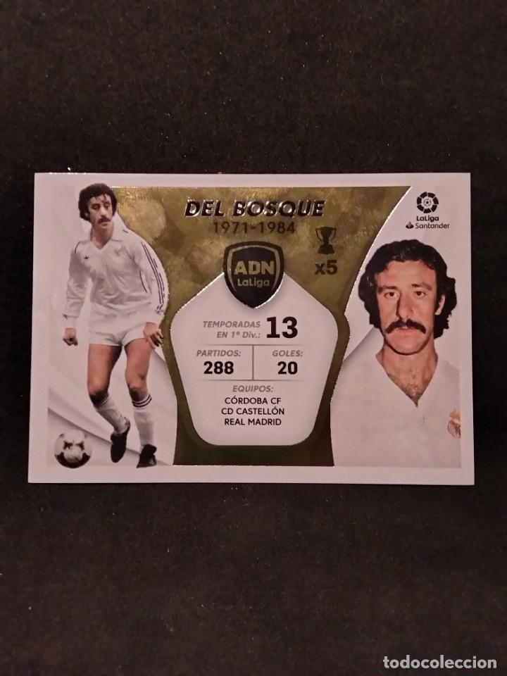 LIGA ESTE 21/22 - DEL BOSQUE - 8 ADN (Coleccionismo Deportivo - Álbumes y Cromos de Deportes - Cromos de Fútbol)