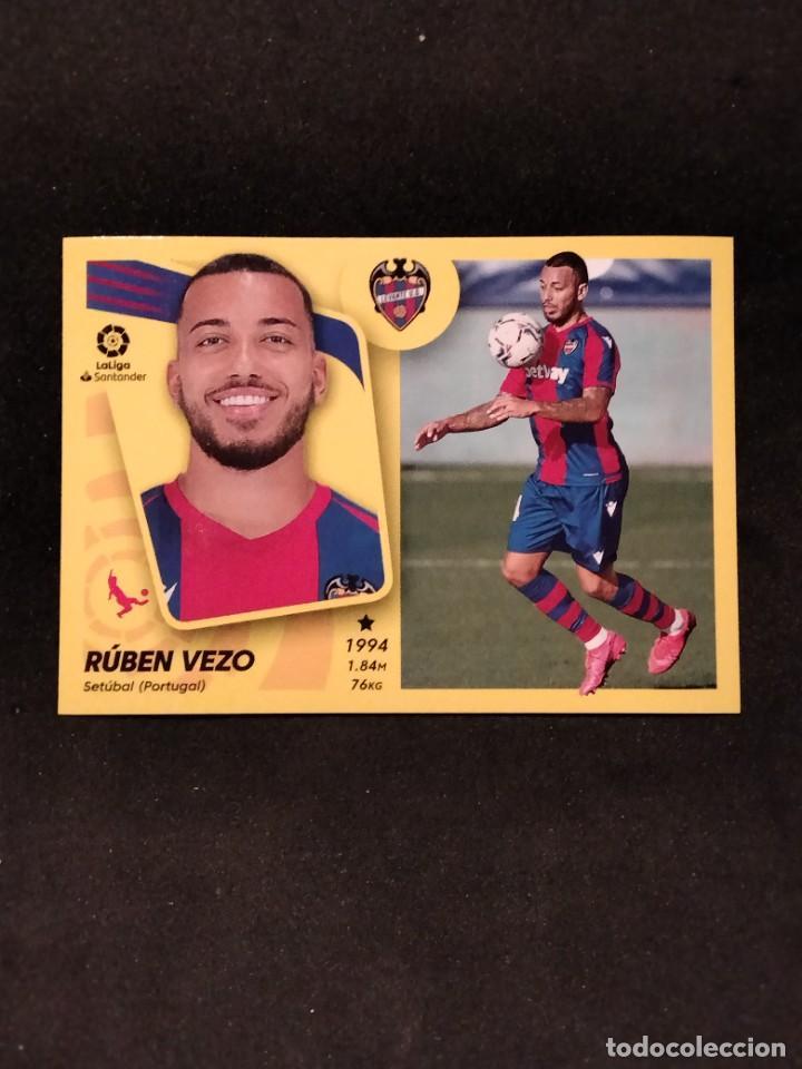LIGA ESTE 21/22 - RUBÉN VEZO- 10 A LEVANTE (Coleccionismo Deportivo - Álbumes y Cromos de Deportes - Cromos de Fútbol)
