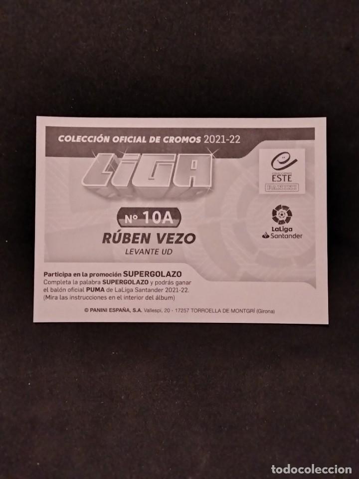 Cromos de Fútbol: Liga este 21/22 - Rubén vezo- 10 A Levante - Foto 2 - 289020778