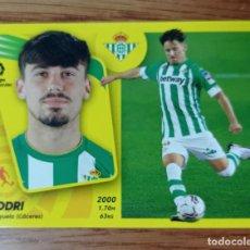 Cromos de Fútbol: CROMO FUTBOL N° 15 BIS RODRI BETIS COLOCA 3 EDICCION LIGA ESTE 2021 2022 21/22. Lote 289020913