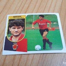 Cromos de Fútbol: ARMANDO -- MALLORCA -- 91/92 -- ESTE -- NUNCA PEGADO. Lote 289315698