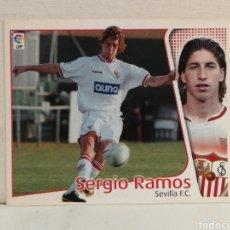 Cromos de Fútbol: SERGIO RAMOS EDICIONES ESTE 04 05 ROOKIE NUNCA PEGADO. Lote 289318013