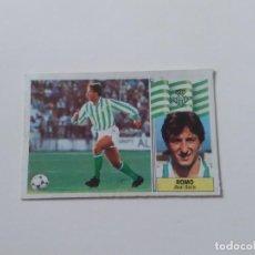 Cromos de Fútbol: ROMO BETIS CROMO TARJETA CARTÓN FUTBOL LIGA 1986-1987 86-87 EDICIONES ESTE. Lote 289523488