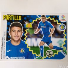 Cromos de Fútbol: LIGA ESTE 2018 2019 18 19 PANINI PORTILLO N° 11 A GETAFE. Lote 289541913