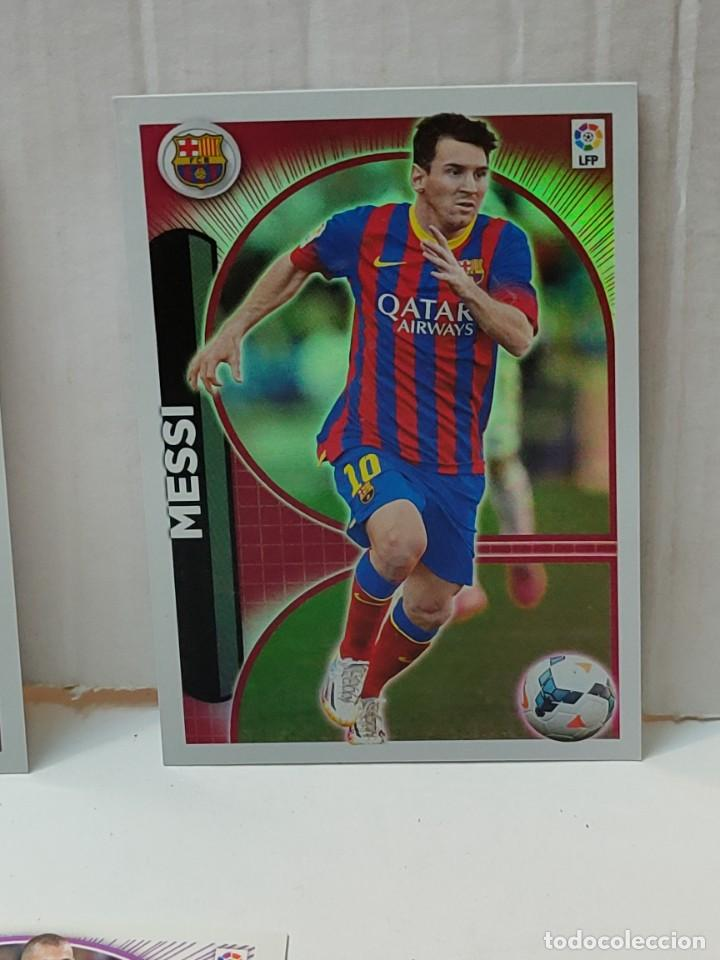 Cromos de Fútbol: Cromos Liga Este 2014/15 Lote 440 cromos no pegados Messi, Cristiano, Benzema,etc - Foto 2 - 289561743