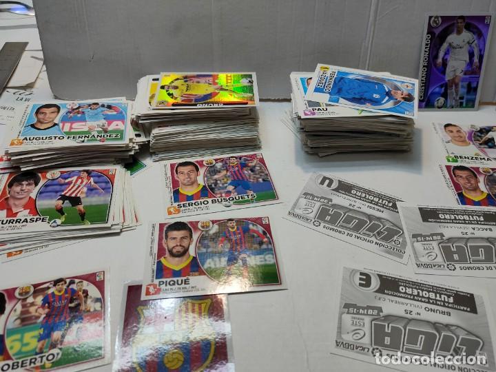Cromos de Fútbol: Cromos Liga Este 2014/15 Lote 440 cromos no pegados Messi, Cristiano, Benzema,etc - Foto 5 - 289561743