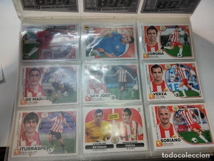 Cromos de Fútbol: Cromos Liga Este 2014/15 Lote 317 cromos no pegados distintos Messi, Cristiano, Benzema,etc - Foto 2 - 289566598