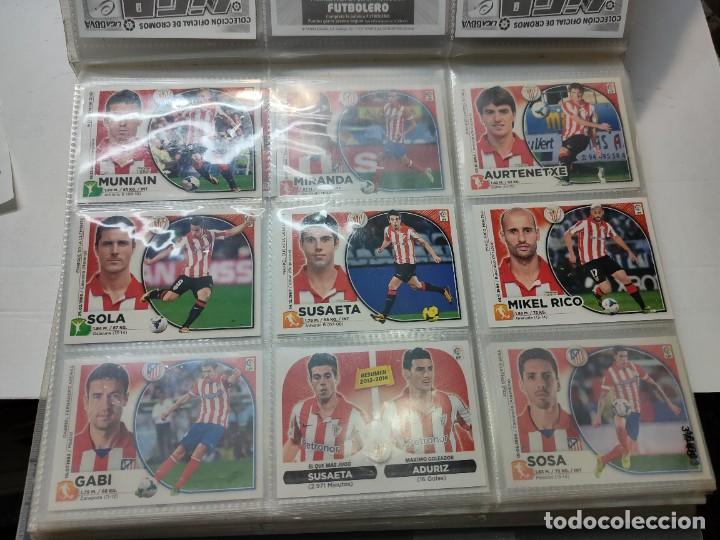 Cromos de Fútbol: Cromos Liga Este 2014/15 Lote 317 cromos no pegados distintos Messi, Cristiano, Benzema,etc - Foto 5 - 289566598