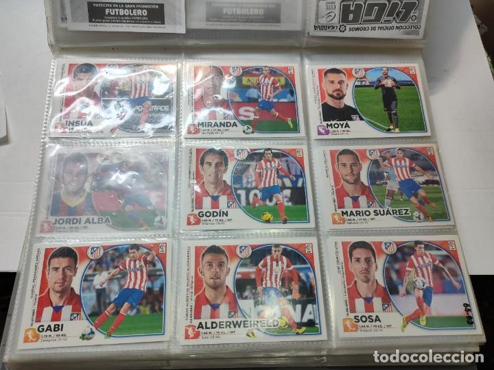 Cromos de Fútbol: Cromos Liga Este 2014/15 Lote 317 cromos no pegados distintos Messi, Cristiano, Benzema,etc - Foto 7 - 289566598