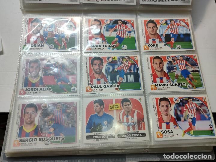 Cromos de Fútbol: Cromos Liga Este 2014/15 Lote 317 cromos no pegados distintos Messi, Cristiano, Benzema,etc - Foto 8 - 289566598