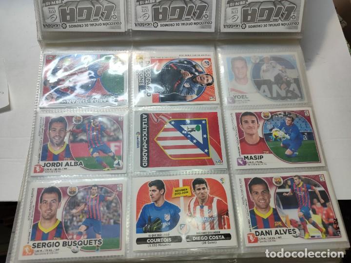 Cromos de Fútbol: Cromos Liga Este 2014/15 Lote 317 cromos no pegados distintos Messi, Cristiano, Benzema,etc - Foto 9 - 289566598