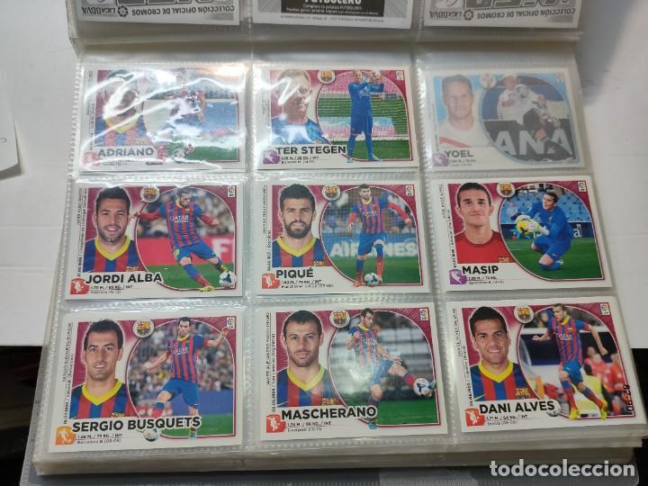 Cromos de Fútbol: Cromos Liga Este 2014/15 Lote 317 cromos no pegados distintos Messi, Cristiano, Benzema,etc - Foto 10 - 289566598