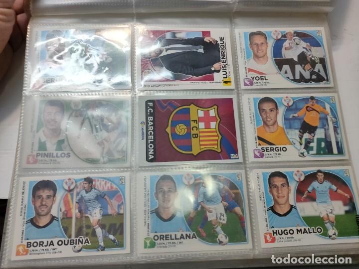 Cromos de Fútbol: Cromos Liga Este 2014/15 Lote 317 cromos no pegados distintos Messi, Cristiano, Benzema,etc - Foto 12 - 289566598