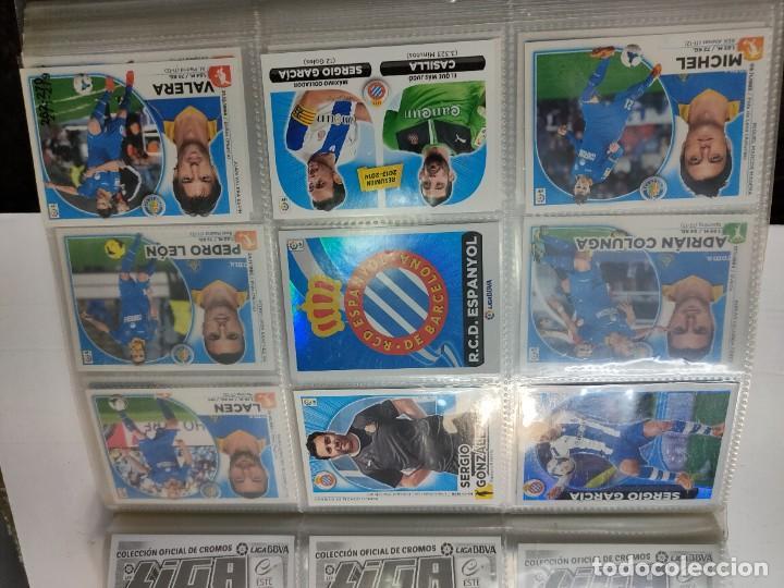 Cromos de Fútbol: Cromos Liga Este 2014/15 Lote 317 cromos no pegados distintos Messi, Cristiano, Benzema,etc - Foto 30 - 289566598