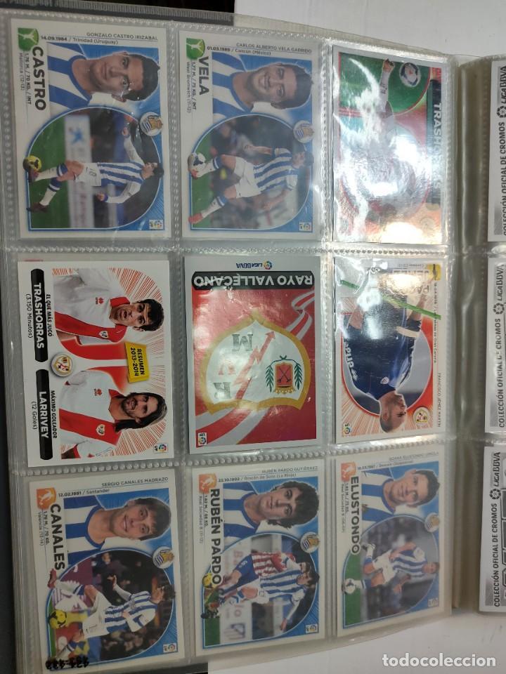 Cromos de Fútbol: Cromos Liga Este 2014/15 Lote 317 cromos no pegados distintos Messi, Cristiano, Benzema,etc - Foto 48 - 289566598