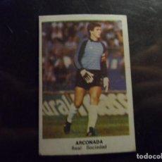 Cromos de Fútbol: ARCONADA DE LA REAL SOCIEDAD ALBUM CROMOS CANO LIGA 1983 - 1984 ( 83 - 84 ). Lote 289578438