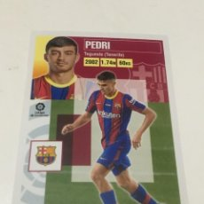 Cromos de Fútbol: CROMO LIGA 20-21 2020-21 FC BARCELONA BARÇA PEDRI FICHAJE 55 ROOKIE EDICIONES ESTE PANINI. Lote 289592268