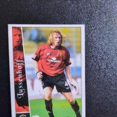 Cromos de Fútbol: LUSSENHOFF MALLORCA MUNDICROMO FICHAS 2002 2003 CROMO FUTBOL LIGA 02 03 - 418. Lote 289592833
