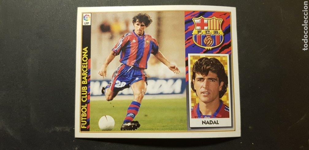 NADAL DEL BARCELONA ALBUM ESTE LIGA 1997 - 1998 ( 97 - 98 ) (Coleccionismo Deportivo - Álbumes y Cromos de Deportes - Cromos de Fútbol)
