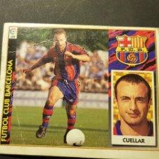 Cromos de Fútbol: CUELLAR BAJA DEL BARCELONA ALBUM ESTE LIGA 1997 - 1998 ( 97 - 98 ). Lote 289622748