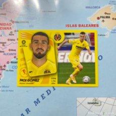 Cromos de Fútbol: MOI GOMEZ NÚMERO 14 DEL VILLARREAL CROMO LIGA ESTE 21-22 2021-2022. Lote 289684648
