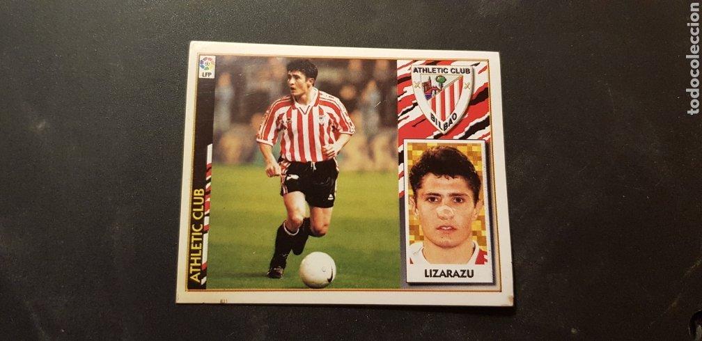 LIZARAZU BAJA DEL ATHLETIC DE BILBAO ALBUM ESTE LIGA 1997 - 1998 ( 97 - 98 ) (Coleccionismo Deportivo - Álbumes y Cromos de Deportes - Cromos de Fútbol)