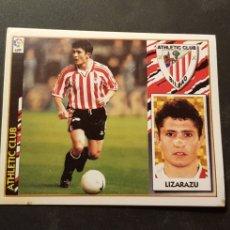 Cromos de Fútbol: LIZARAZU BAJA DEL ATHLETIC DE BILBAO ALBUM ESTE LIGA 1997 - 1998 ( 97 - 98 ). Lote 289687943