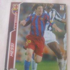 Cromos de Fútbol: MESSI Nº71-BIS.MEGA CRACKS 2005/06. Lote 289697618