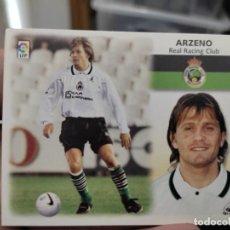 Cromos de Fútbol: ARZENO RACING SANTANDER ED ESTE CROMO SIN PEGAR NUNCA LIGA 1999 99 2000 00. Lote 289700223