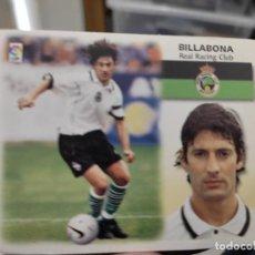 Cromos de Fútbol: BILLABONA RACING SANTANDER ED ESTE CROMO SIN PEGAR NUNCA LIGA 1999 99 2000 00. Lote 289739213